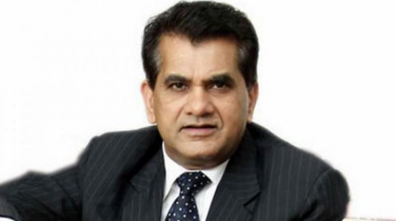 Niti Aayog CEO Amitabh Kant on Thursday pitched for channelling insurance and pension funds for financing infrastructure projects. (File Photo)