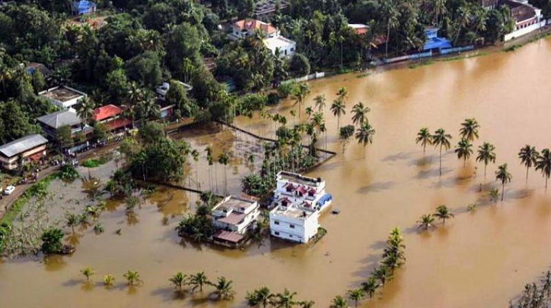 In Kerala, there are some 44 dams that store river waters. Not being forewarned about the unexpected heavy rains in mid-August, the dams were in danger of overflowing and suddenly released excess water. (Photo: PTI)