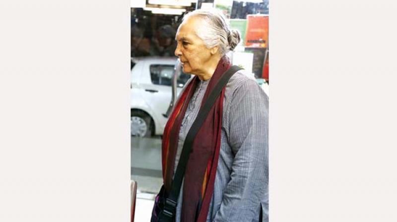 JNU Professor Romila Thapar