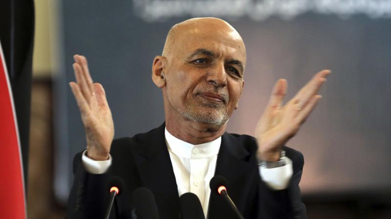 President Ashraf Ghani. (File photo:AP)