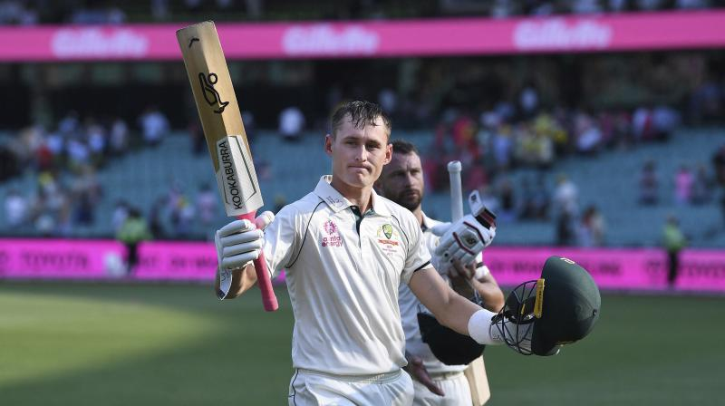 Australia's Marnus Labuschagne on 130 not out at the end of play on day 1 of the third cricket test match between Australia and New Zealand at the Sydney Cricket Ground, Sydney, Australia. Friday Jan. 3 2020 .(Photo: AP/PTI)