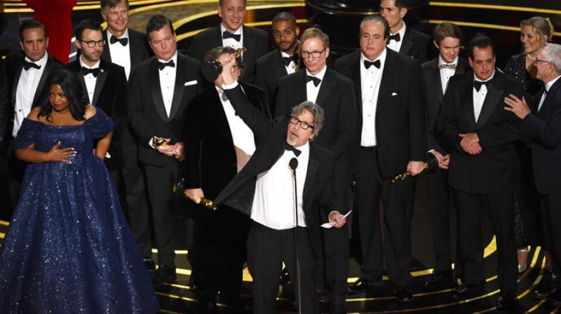 Green Book won the Best Picture Oscar. (Photo courtesy: Chris Pizzello/Invision/AP)