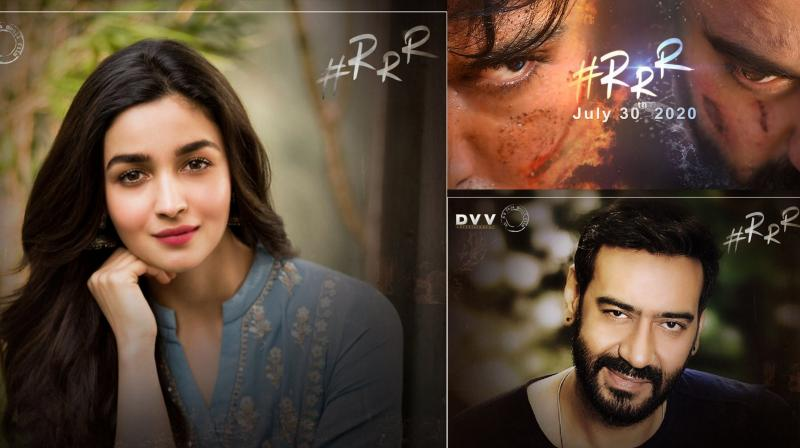 Alia Bhatt and Ajay Devgn have joined the cast of filmmaker SS Rajamouli's upcoming venture