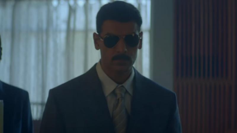 John Abraham in the still from 'Romeo Akbar Walter'.
