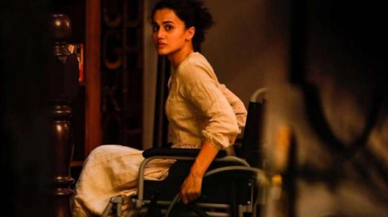 Taapsee Pannu in the still from 'Game Over'.
