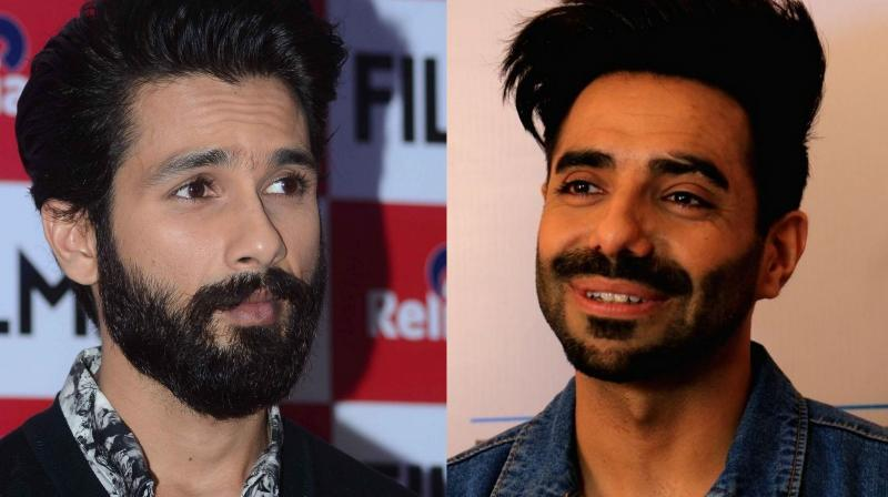 Shahid Kapoor and Aparshakti Khurana.