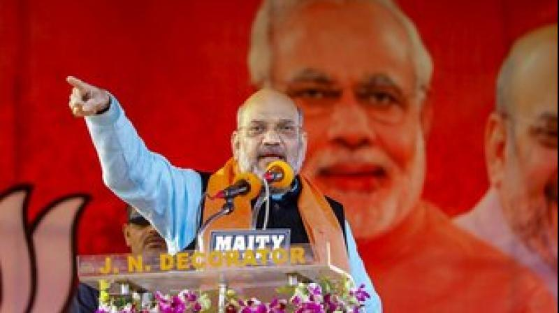 'The opposition should spell out who its prime ministerial candidate is,' Shah said. (Photo: PTI)