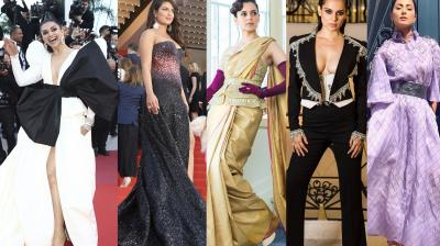 Top actors, singers from around the world graced the prestigious Cannes red carpet on Day 3.