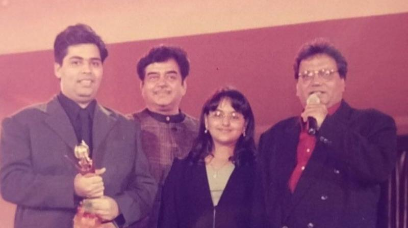 The picture Karan Johar shared with Sonakshi and Shatrughan Sinha and Subhash Ghai.