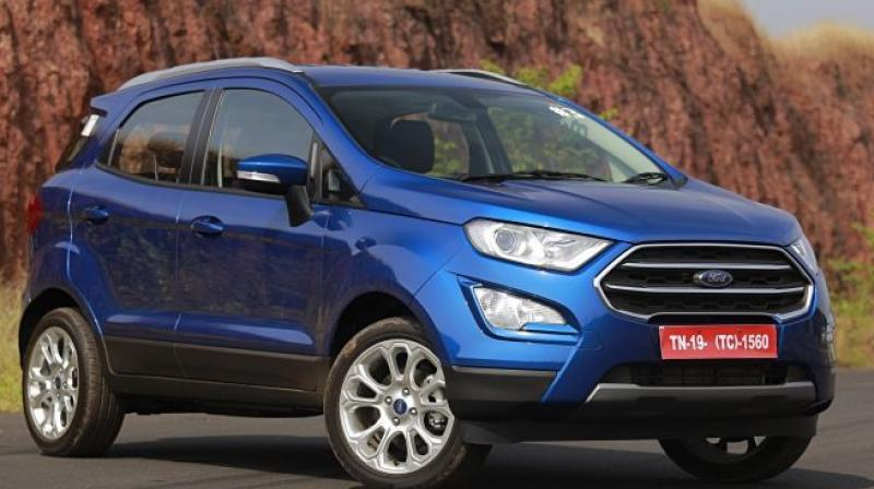 Ford India on Monday launched new variants of its compact SUV EcoSport, priced between Rs 10.4 lakh and Rs 11.89 lakh (ex-showroom Delhi).