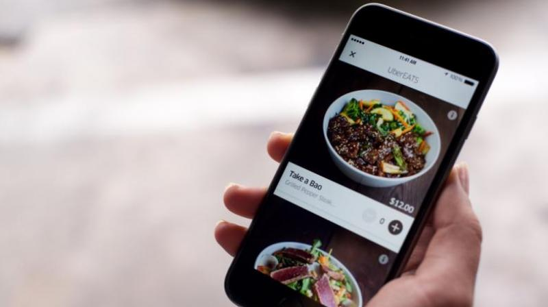 'Uber Eats', a mobile app, was launched in the city on Wednesday enabling the gourmet to order food from 250 favourite eating joints on the click of a button.