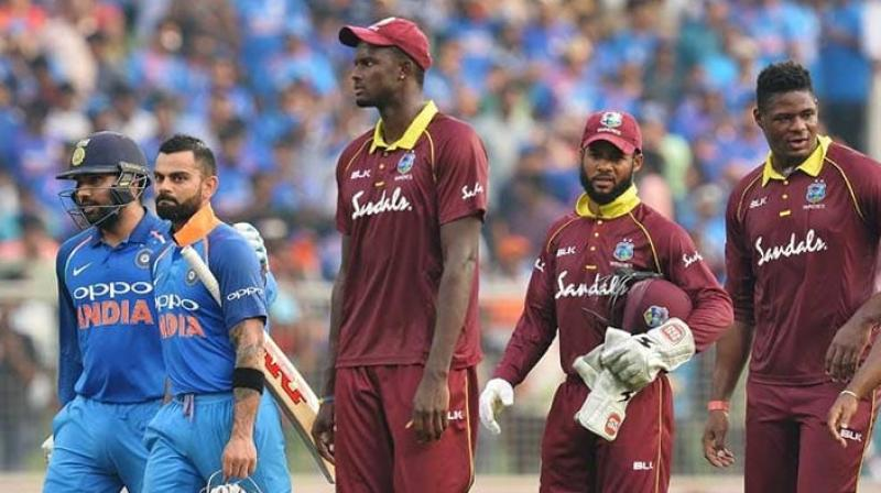 West Indies who will aim to halt India's winning streak, has won two and lost the remaining four matches it played. (Photo:AFP)