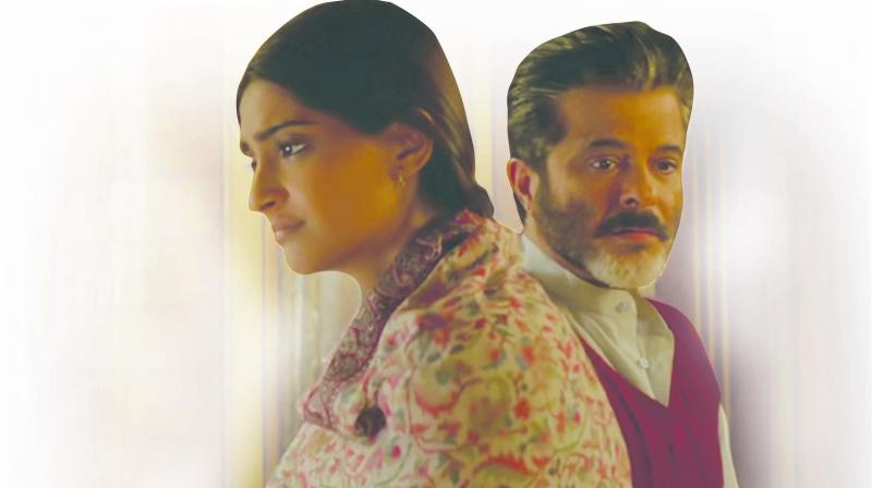 Sonam Kapoor looks real as a small town girl but is limited in her role by way of a reclusive and withdrawn girl who doesn't lead a complete life.