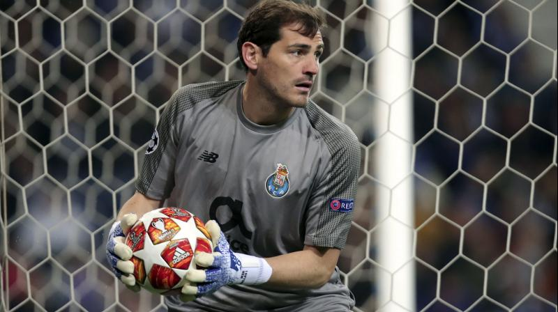 His 725 matches between 1999 and 2015 put him behind only his former team mate Raul, with 741, on Real's all-time list. (Photo: AP)