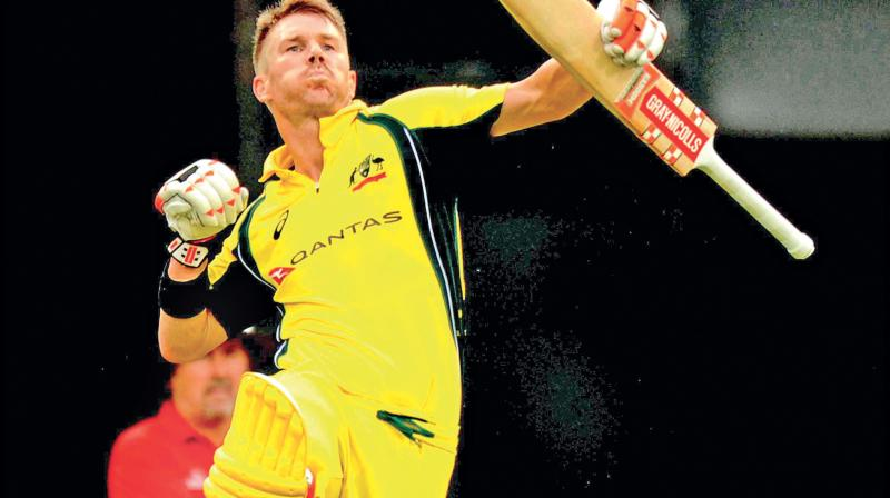 Warner was in a sensational form in this IPL, scoring 692 runs in just 12 matches at an average of 69.20.