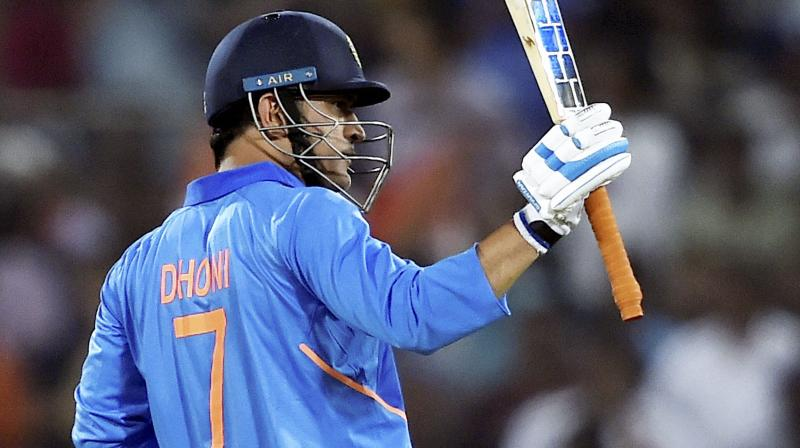 Gavaskar also spoke highly of Dhoni's wicket-keeping skills and how they aid skipper Virat Kohli in making field placements. (Photo: PTI)