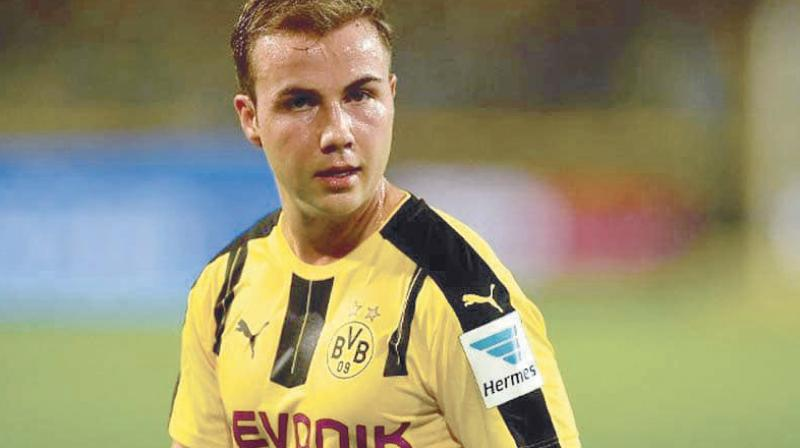 Goetze, raised at Dortmund and given his debut as a 17-year-old by Juergen Klopp, was once regarded as one of the top young talents in Europe.