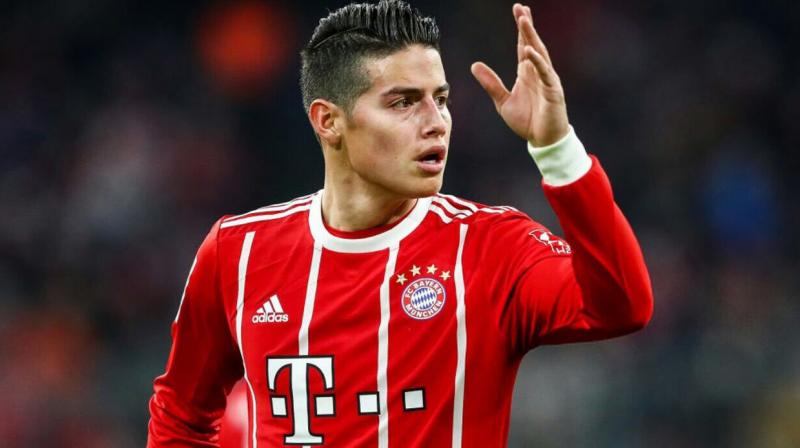 The 27-year-old Colombian joined Bayern from Real Madrid in 2017, on a two-year loan deal which expires at the end of this season. (Photo: James Rodriguez/Twitter)