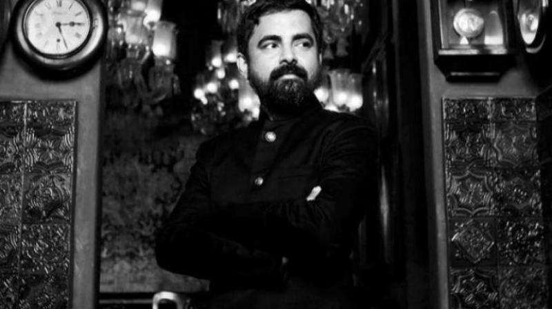Sabyasachi Mukherjee in a photoshoot.