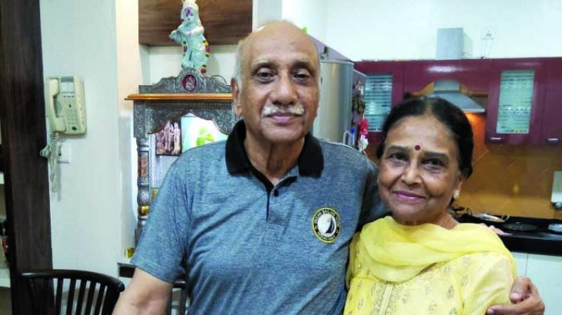 Love is all about respecting each other's identity and keeping the integrity intact, and this motto has kept Sudhir and Mira Sinha's love going strong for 57 years.