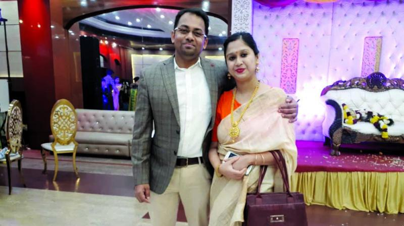 Aashique and Chandreyee Bhaumik Chakraborty, who have been together for over 12 years, have braved the cruelty of time and distance.