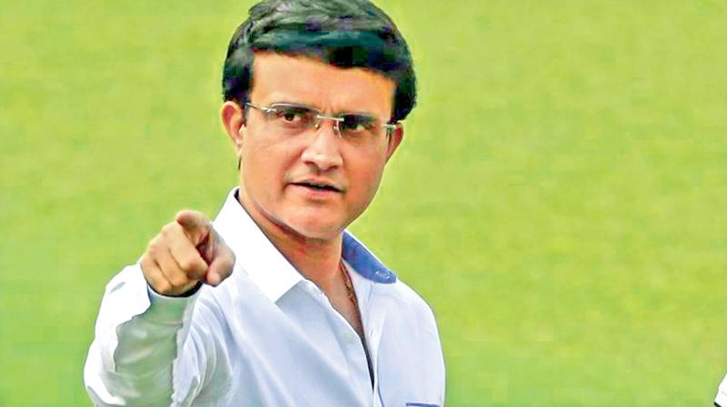 Former India cricket captain and current BCCI president. DC File Photo