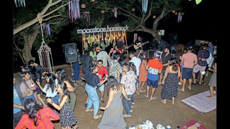 With increasing popularity of camping among Mumbaikars, companies are making the outdoor adventure more interesting by hiring professional entertainers.