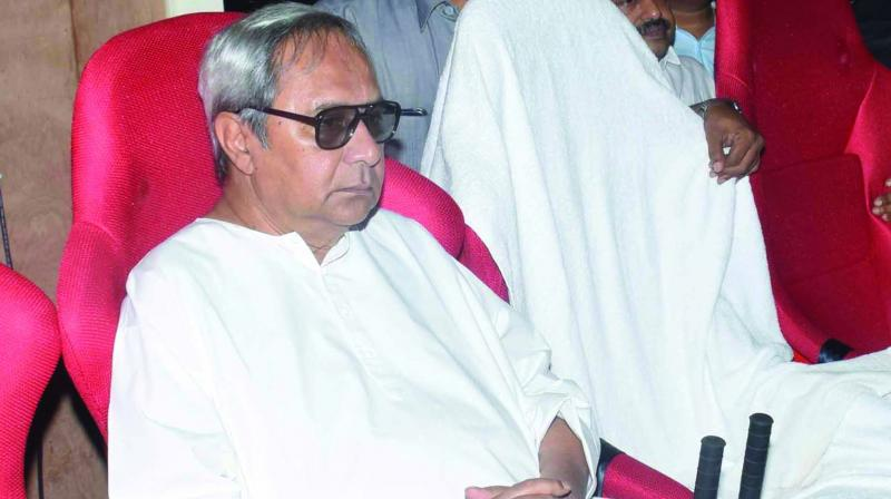 Odisha chief minister and BJD president Naveen Patnaik.