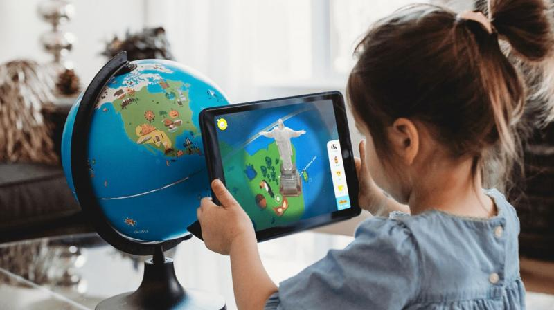 Shifu Orboot, a one-of-its-kind globe enhanced by AR, that allows children to explore the world beyond boundaries.