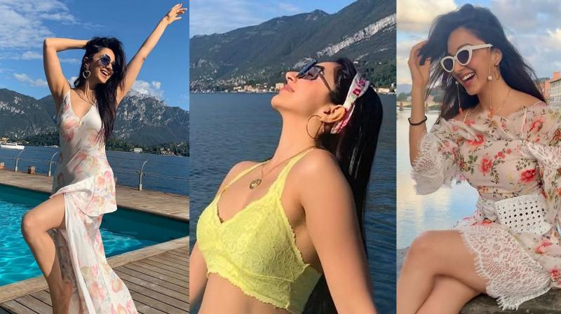 Kiara Advani is right now on cloud nine as her latest release 'Kabir Singh' did an outstanding business at the box-office. To cherish the success, Kiara recently visited Italy's exotic places like Lake Como, Florence. Here pictures will surely give you inspiration for your next vacation. (Photos: Viral Bhayani)
