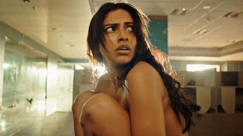 Amala Paul in the stills from Aadai teaser. (Photo: YouTube)