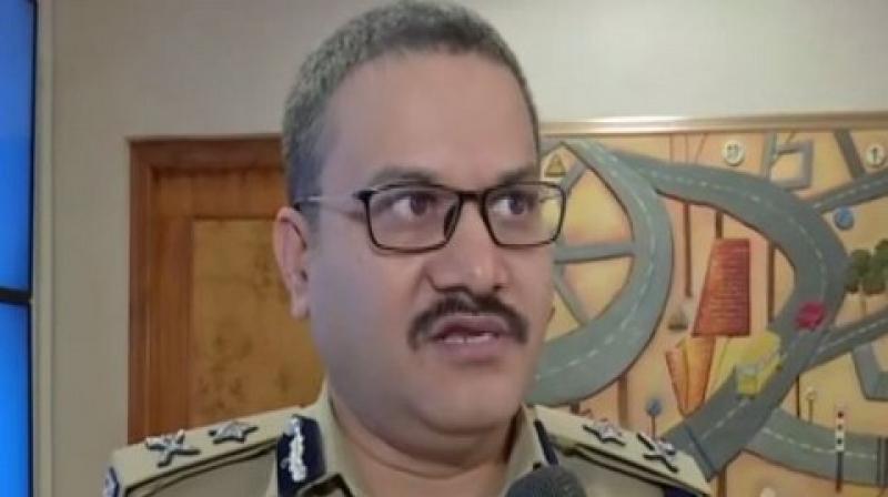 Anil Kumar IPS, Additional Commissioner of Police (Traffic), Hyderabad city. (Photo: ANI)
