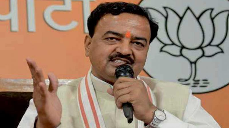 UP Deputy Chief Minister Keshav Maurya