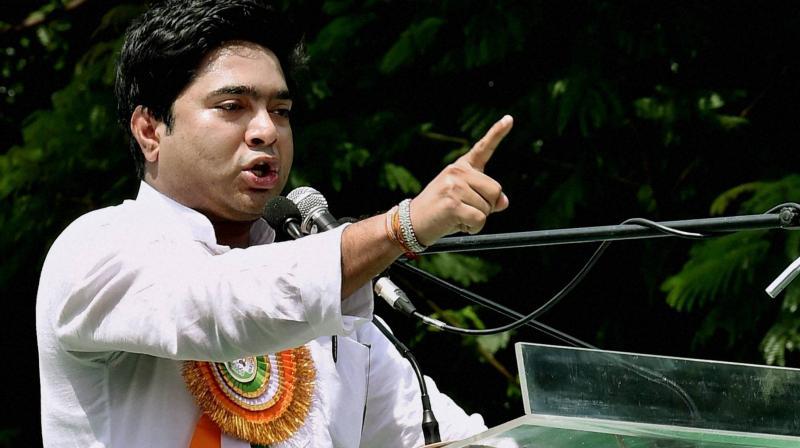 TMC MP Abhishek Banerjee (PTI)
