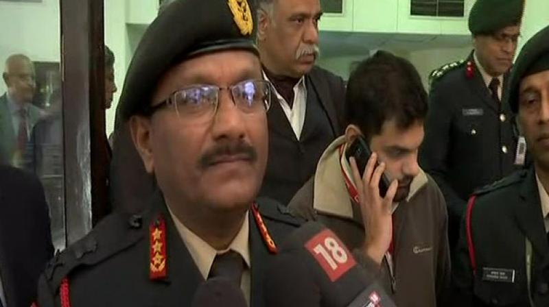 Vice Chief of Army Staff Lieutenant General Sarath Chand on Monday assured that India would keep giving a befitting reply to Pakistan army. (Photo: ANI)
