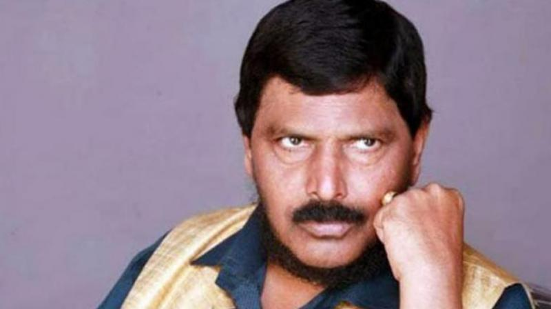 Union minister Ramdas Athawale (Photo: File)
