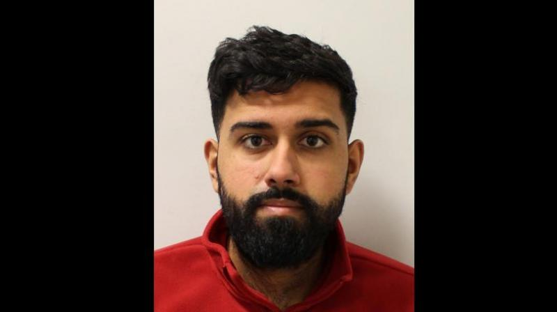 Sanjay Naker, a 28-year-old married man from north London, was found guilty of all charges but the jury cleared him of the charge of assault by penetration at the end of the trial on Thursday. (Photo: @metpoliceuk/Twitter)