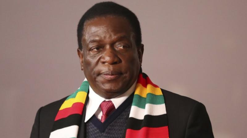 Emmerson Mnangagwa quickly took to Twitter to say he was 'humbled' to have won the election, hailing it as a