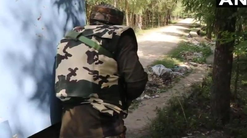 It added that the duo was after sustaining grievous injuries in Pakistani firing airlifted to 150 GH Hospital in neighbouring Rajouri district (ANI file photo)