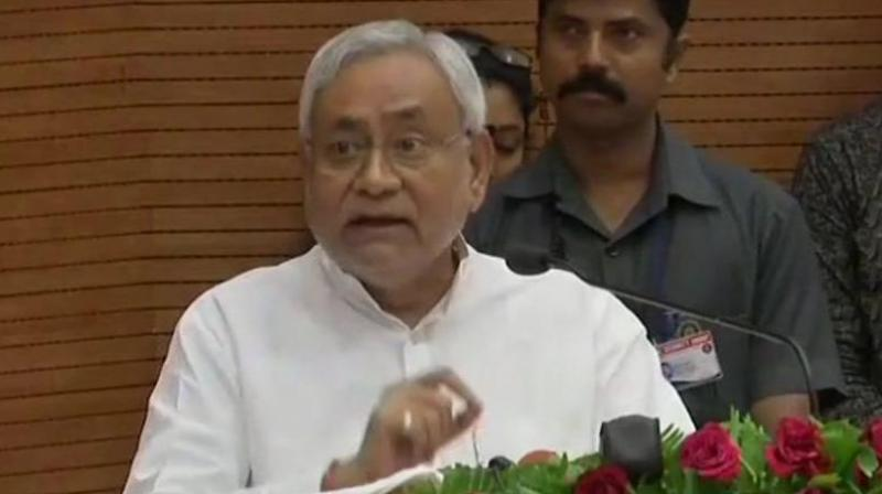 Bihar Chief Minister and JD(U) chief Nitish Kumar (Photo: Twitter/ANI)
