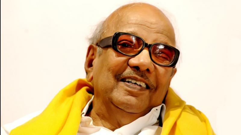 The DMK head served as the chief minister of Tamil Nadu for five separate terms in the 1969–2011 period. (Photo: Twitter/@kalaignar89)
