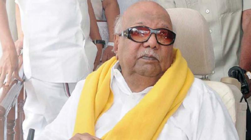DMK patriarch M. Karunanidhi (Photo: File)