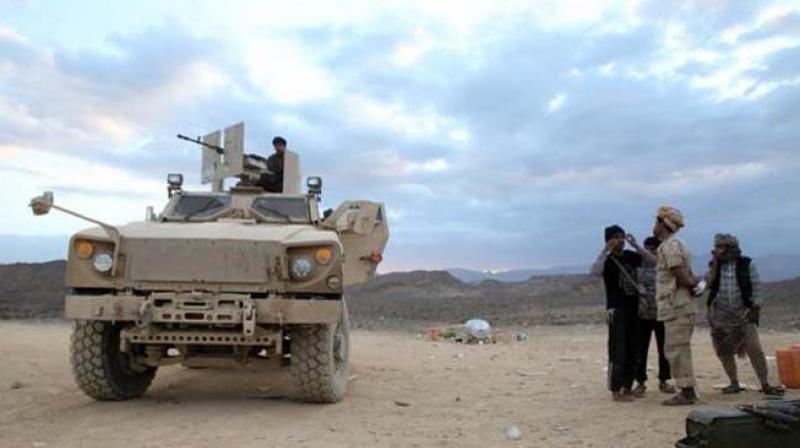 The attack took place in the Dahyan market in Saada province, a stronghold of the rebels known as Houthis, the elders said. The province lies along the border with Saudi Arabia. (Representational/AP)