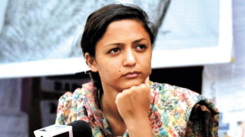 Patiala House Court on Monday granted interim protection from arrest to activist Shehla Rashid in connection with a recent FIR lodged against her under sedition charges. (Photo: File)