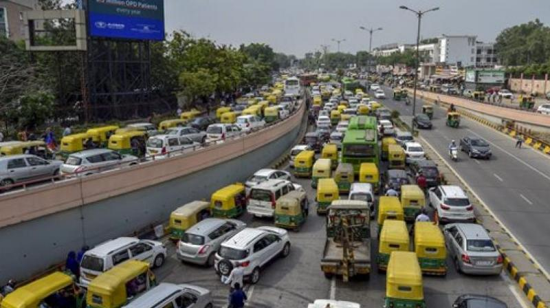 Traffic will not be allowed on lower Ring Road from ISBT Kashmere Gate towards Shanti Van and from IP flyover towards Rajghat. (Photo: PTI)