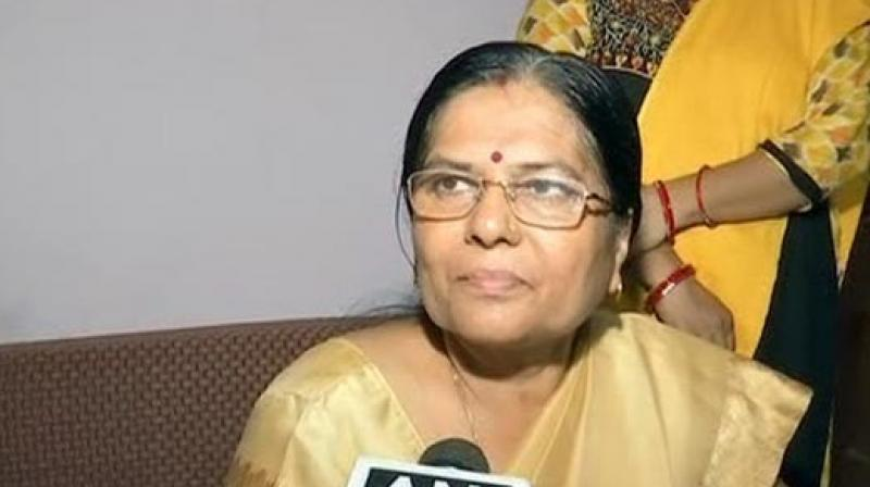 Verma had resigned last week following allegations that her husband was a regular visitor to the girls' shelter home where minor girls were facing sexual abuse. (Photo: ANI)