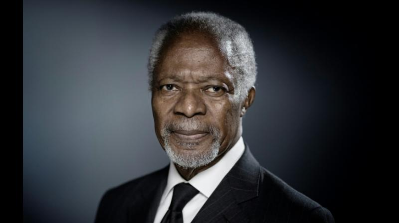 Nobel Peace Prize laureate Kofi Annan has died at the age of 80 (Photo: AFP)