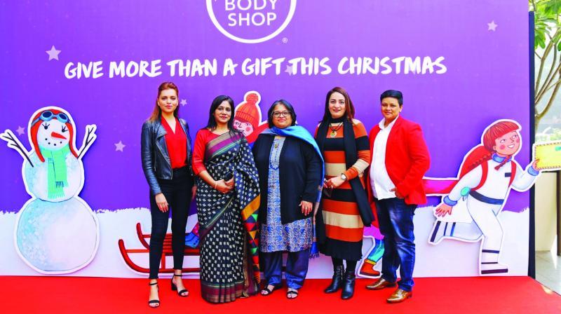 (L-R) Dr Neharika Yadav, Anju Mangla, Anuja Bansal, Harmeet Singh and Vankadarath Saritha.