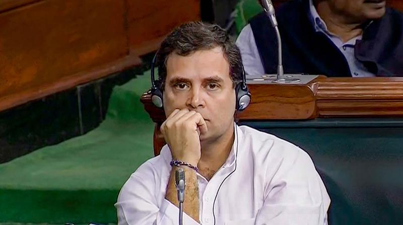 Congress MP Rahul Gandhi has been critical of the government's handling of the coronavirus crisis since early February. (PTI)