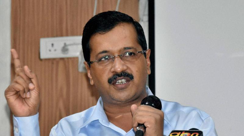 File image of Delhi Chief Minister Arvind Kejriwal. (ANI)